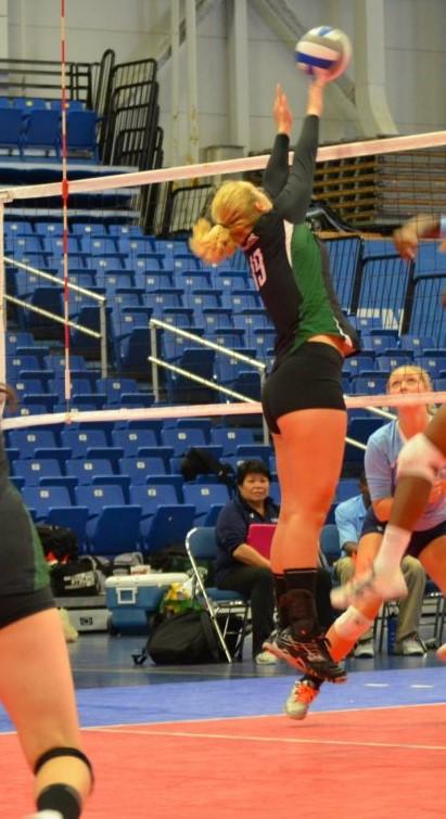 Samantha Clark volleyball